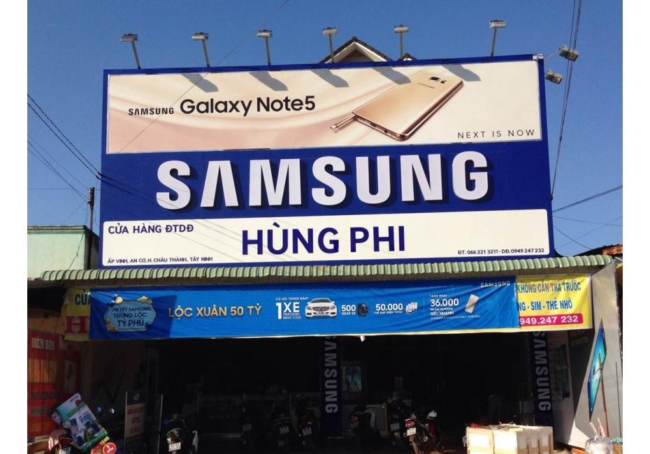 Billboard quảng cáo ngoài trời tại An Giang